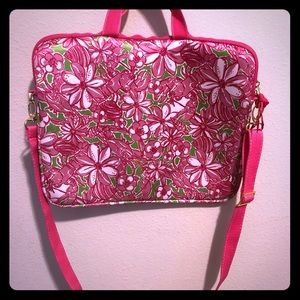 Lilly Pulitzer Laptop Bag | With adjustable straps